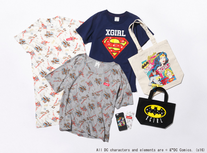 X-girl × DC FEMALE POWER Released | NEWS | X-girl OFFICIAL SITE