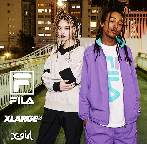 12/21(fri.) FILA×XLARGE®×X-gir...